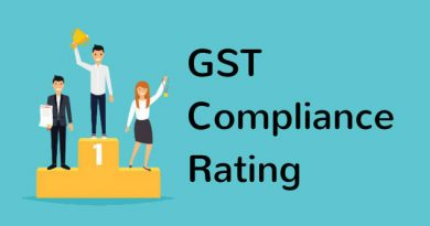 Compliance Rating and Blacklist with respect to GST